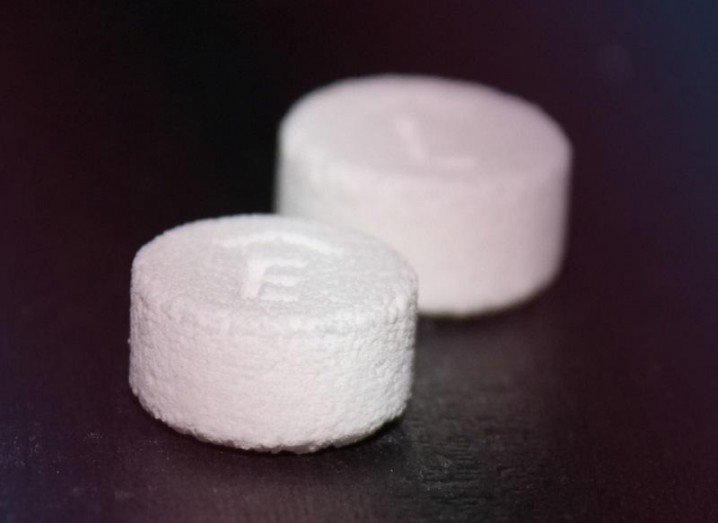 3D-printed pill Spritam