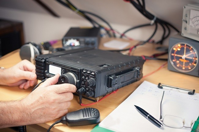 Amateur radio equipment