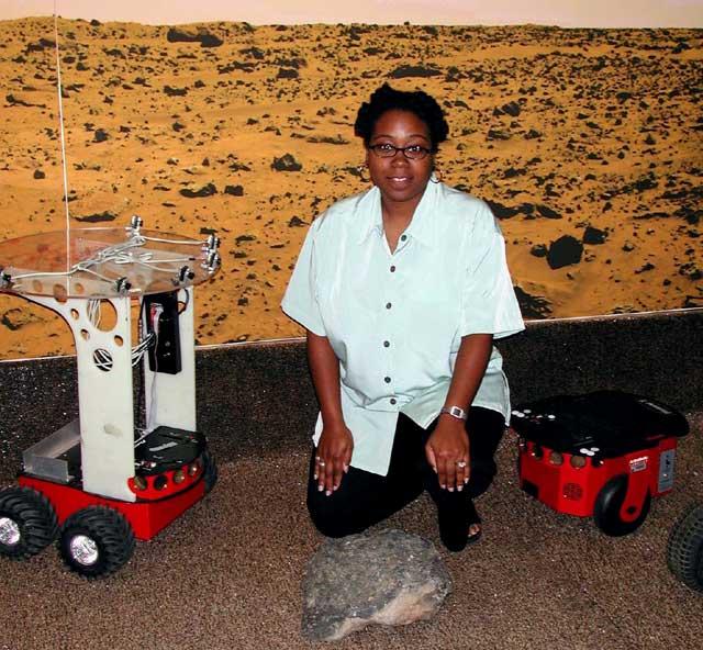 Ayanna Howard at NASA