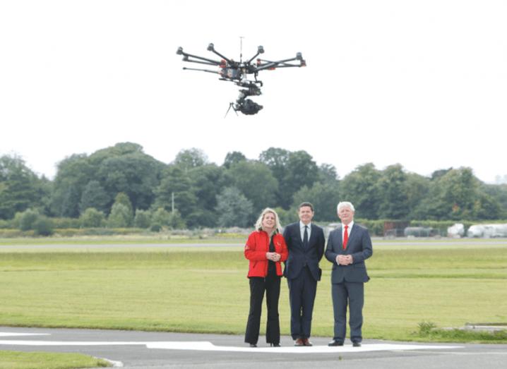 drones-ireland-paschal donohoe