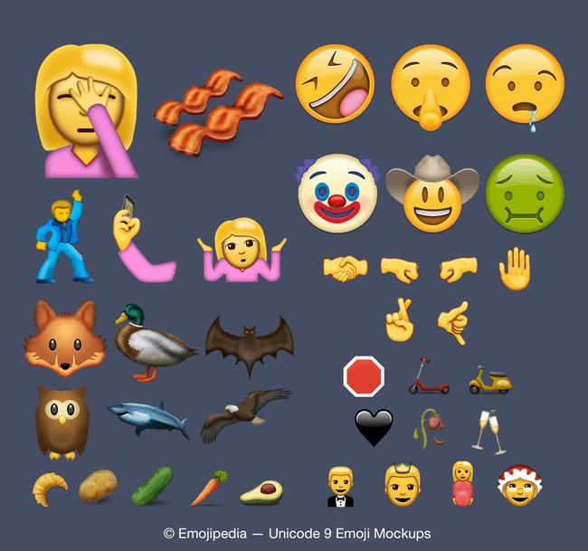 Emojipedia - new emoji