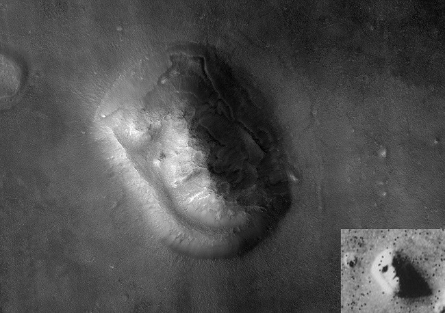 Strange objects on Mars MRO