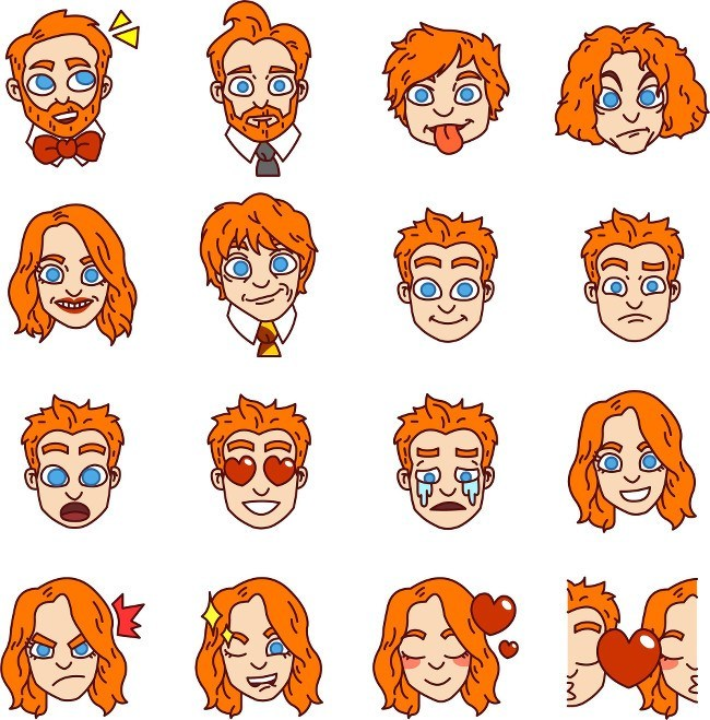 New Emoji - ginger