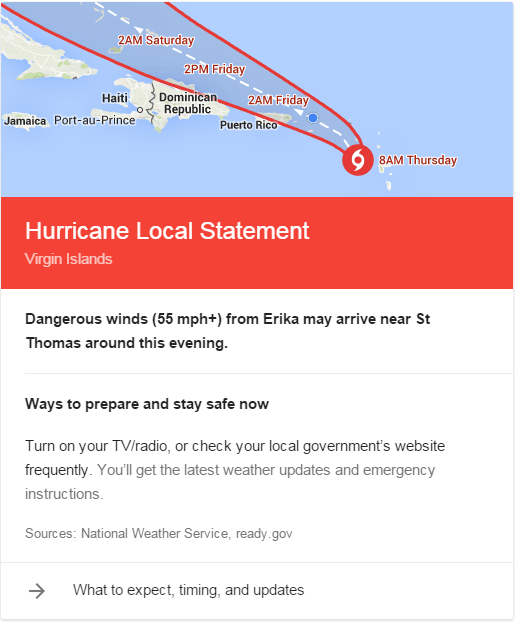 Hurricane Advice