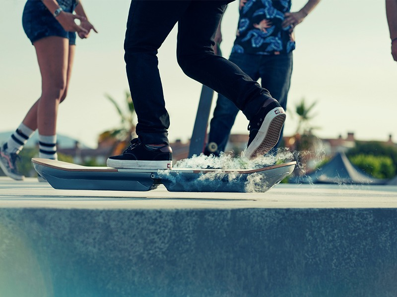 Lexus Hoverboard slides into action (video)