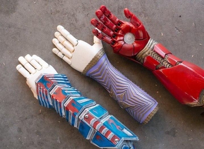 3D printing prosthetics
