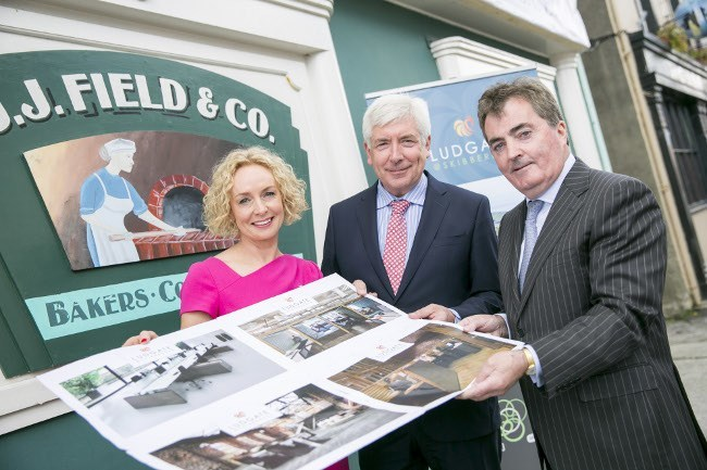 Pictured at the Ludgate hub were Vodafone Ireland CEO Anne O'Leary, Communications Minister Alex White TD and