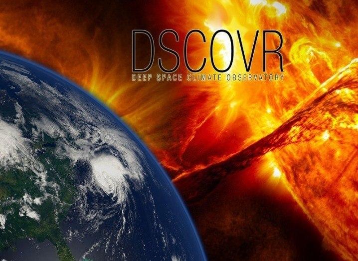 DSCOVR image via NOAA