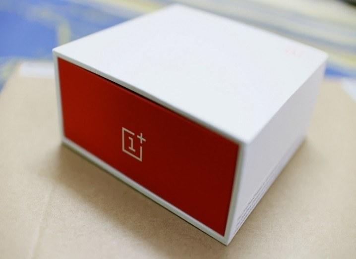 New OnePlus phone box
