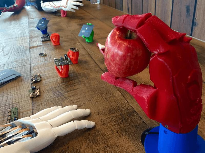 3D-printed prosthetic hand picks up UK James Dyson Award