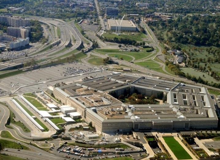 Pentagon hack building
