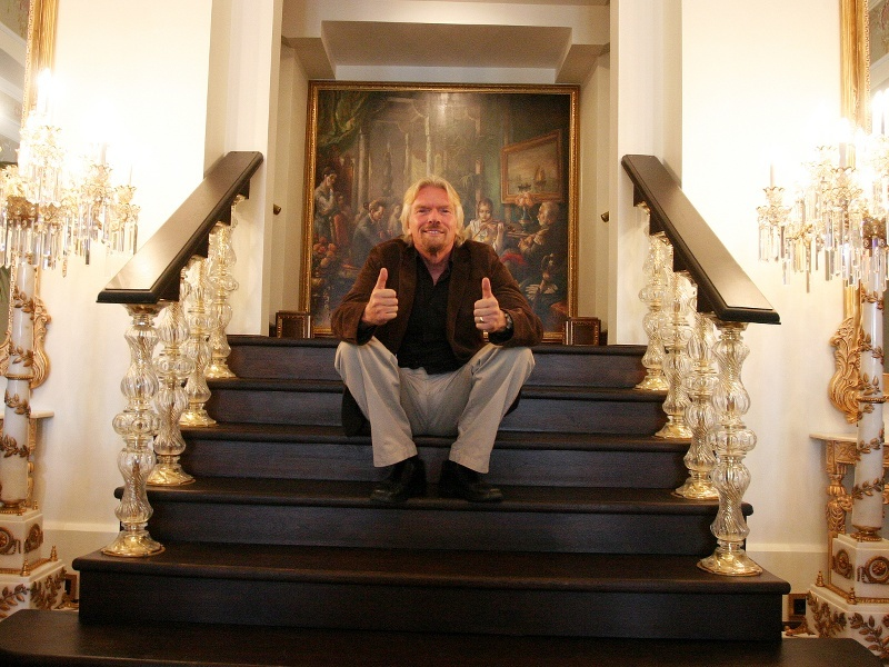 Richard Branson investing in IoT? That has a nice Ring to it