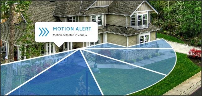 Ring Motion Detector - smart doorbell