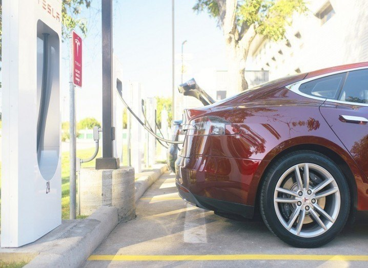 Tesla financial results supercharging