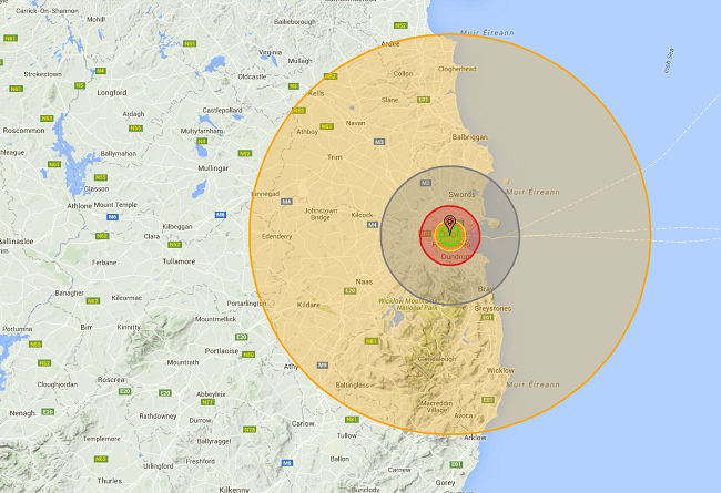 Hiroshima Tsar Bomba Dublin