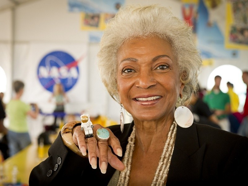 Star Trek's Uhura to boldly go where few actors have before for NASA