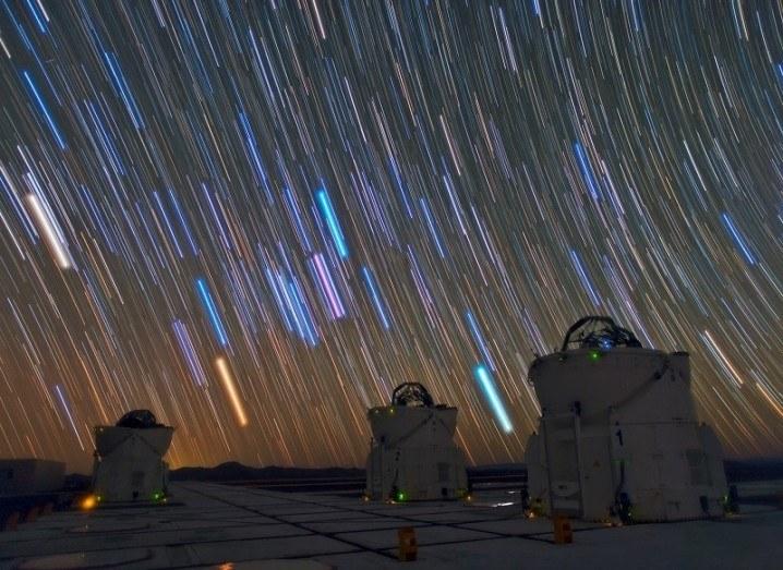 Ghost star ESO VLT