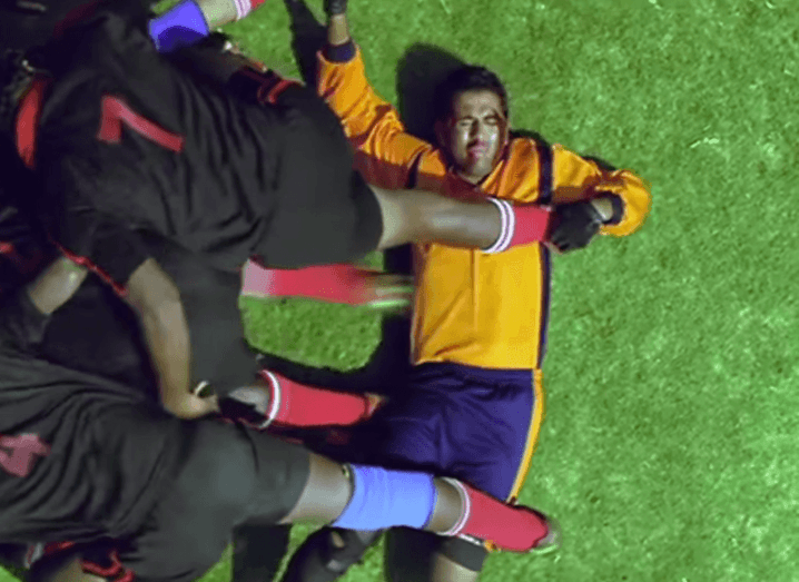 Bollywood rugby