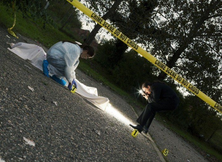 Crime scene | CSI | Sherlock
