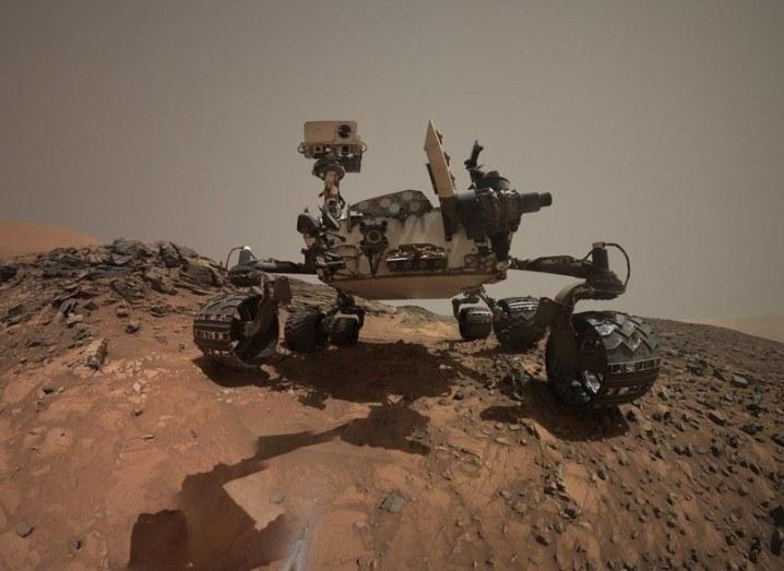 Curiosity Rover Martian Selfie
