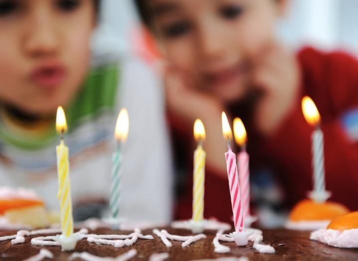 Happy birthday image by Zurijeta via Shutterstock