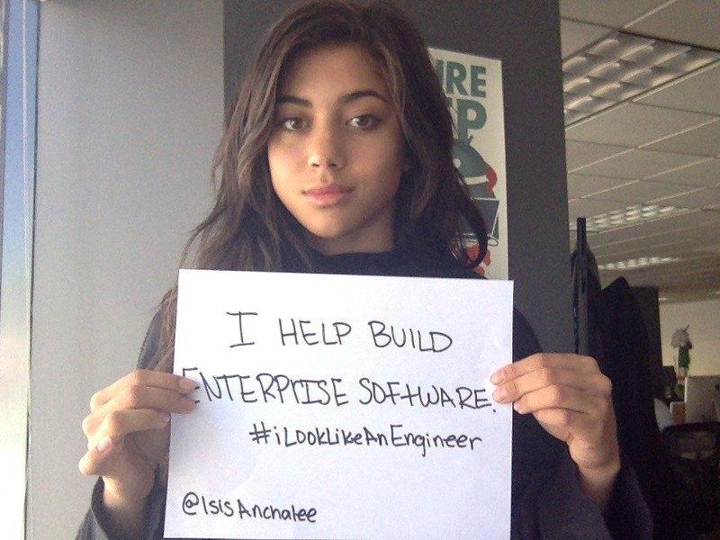 Isis Wenger is building an #iLookLikeAnEngineer website