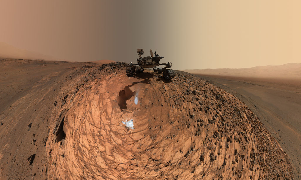 Mars mission Curiosity Rover