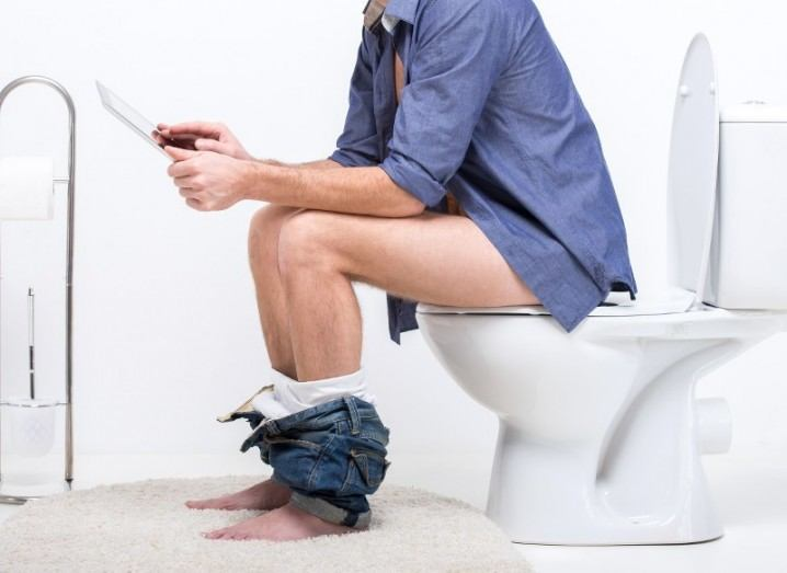 Pooductive toilet app
