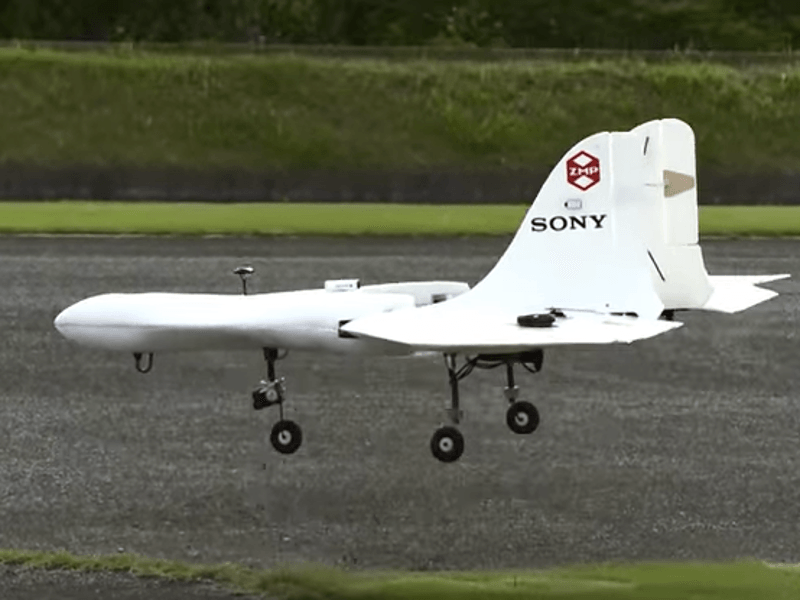 Sony swoops in on drone market with nimble vertical take-off aeroplane (video)