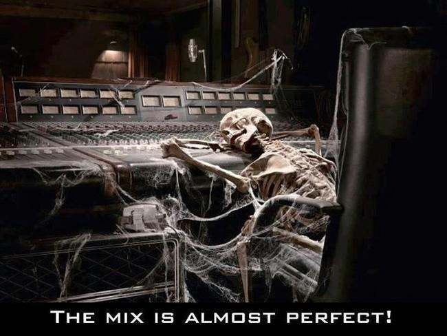 Sound engineer memes skeleton