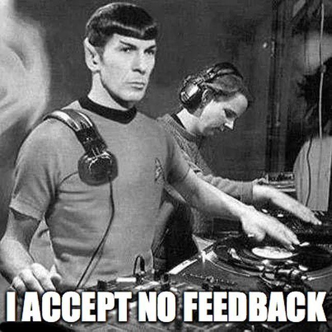 Sound engineer Spock