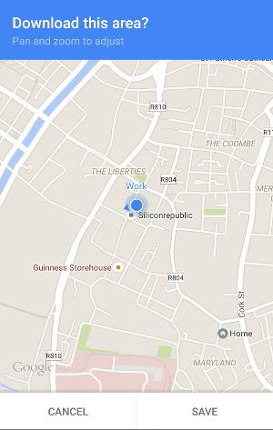 Google Maps travel tips