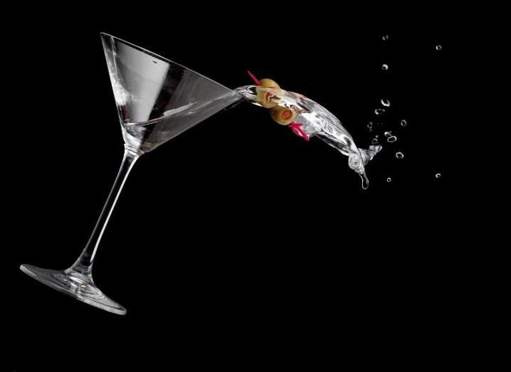 Alcoholism martini