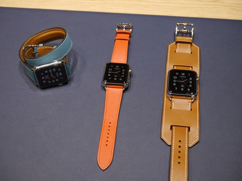 Watch: First look at Apple Watch models and Hermès bands (video)
