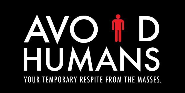 Avoid Humans logo