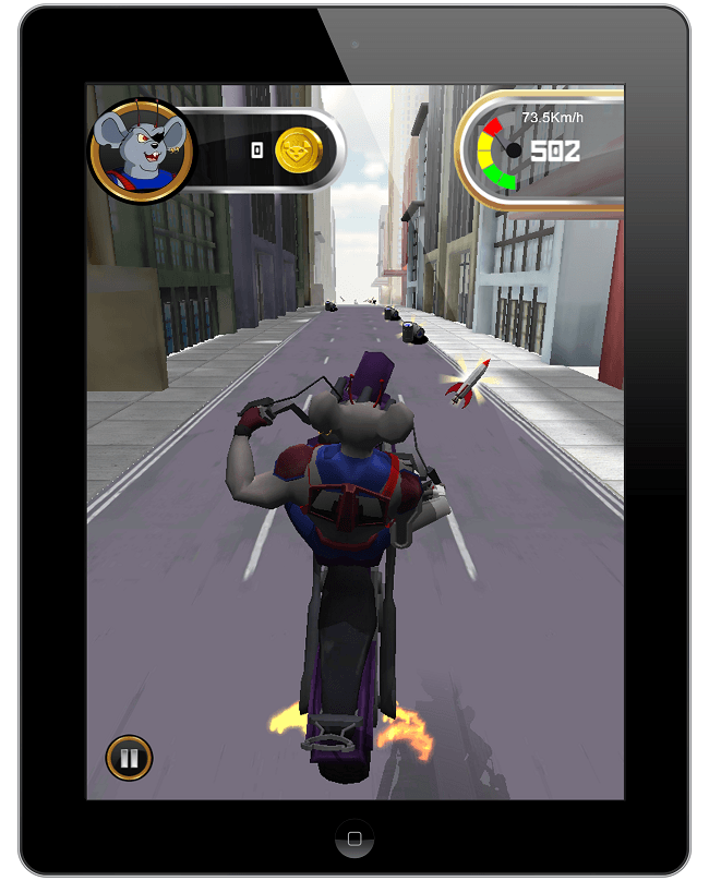 Biker Mice on iPad
