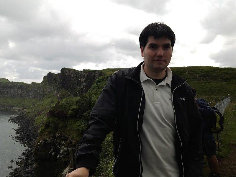 Software engineer from Spain admires the charity of the Irish