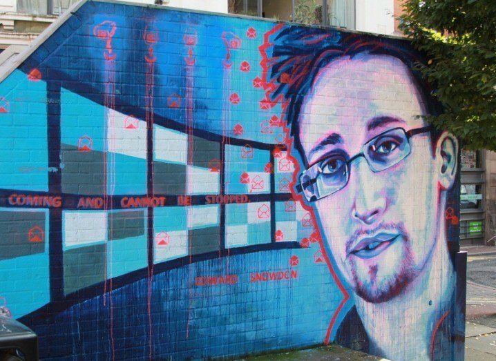 Edward Snowden followers on Twitter