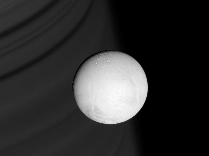 Vast ocean lies beneath surface of Saturn's moon Enceladus, says new study