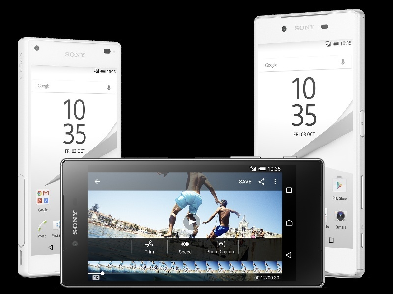 Sony Xperia Z5 range revealed, with cameras to the fore