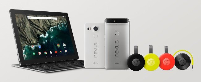 Google devices Nexus Chromecast