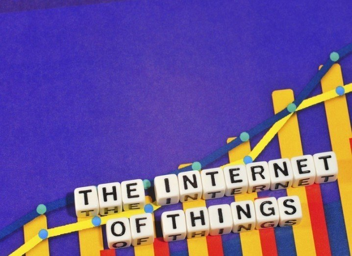 IBM IoT: Internet of Things written on graph