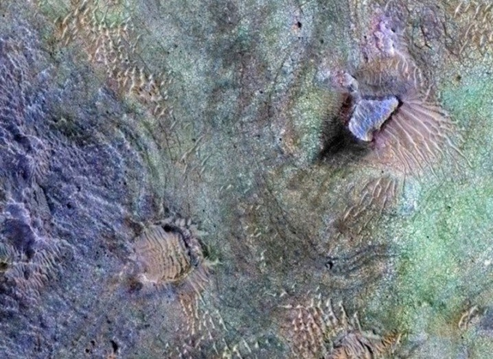 Evidence of water found on Mars