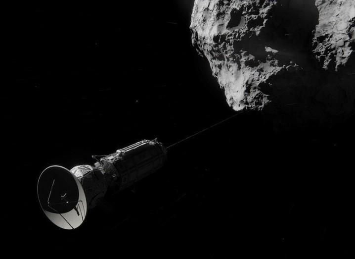 NASA Comet Hitchhiker