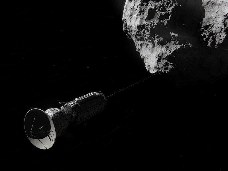 NASA hatches hitchhiker's guide to the galaxy plan using comets