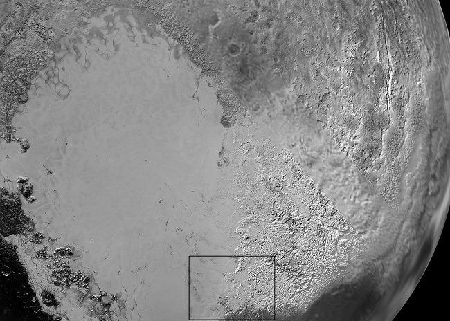Pluto Sputnik Planum