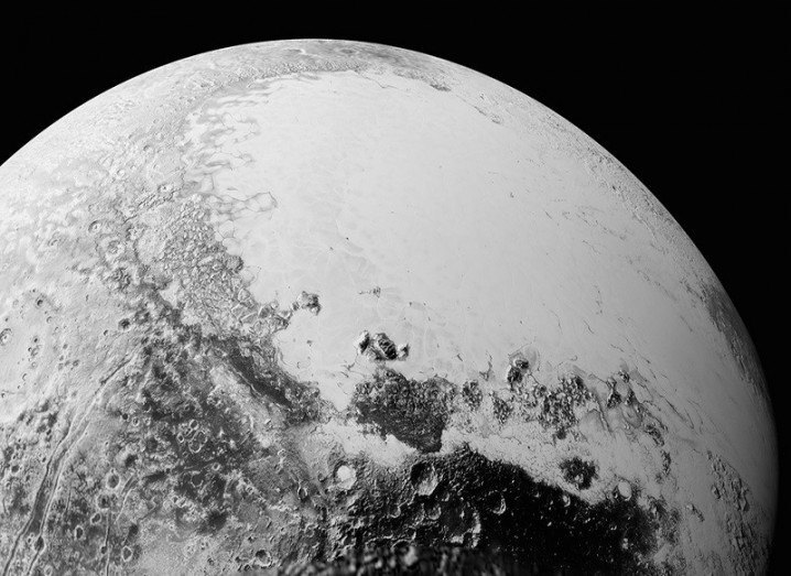 New Pluto close-up photos