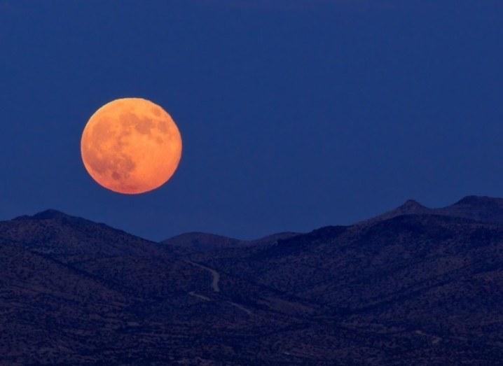 Supermoon lunar eclipse SuperBloodMoon