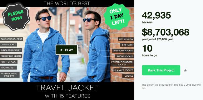 Top Kickstarter Campaigns Baubax
