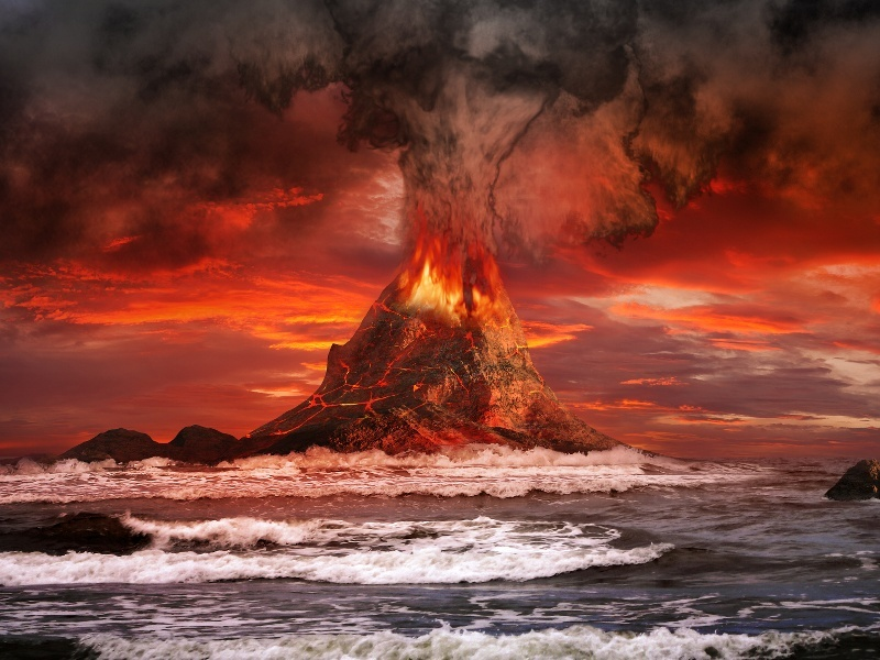 3D map of Earth's core shows how volcanoes are formed
